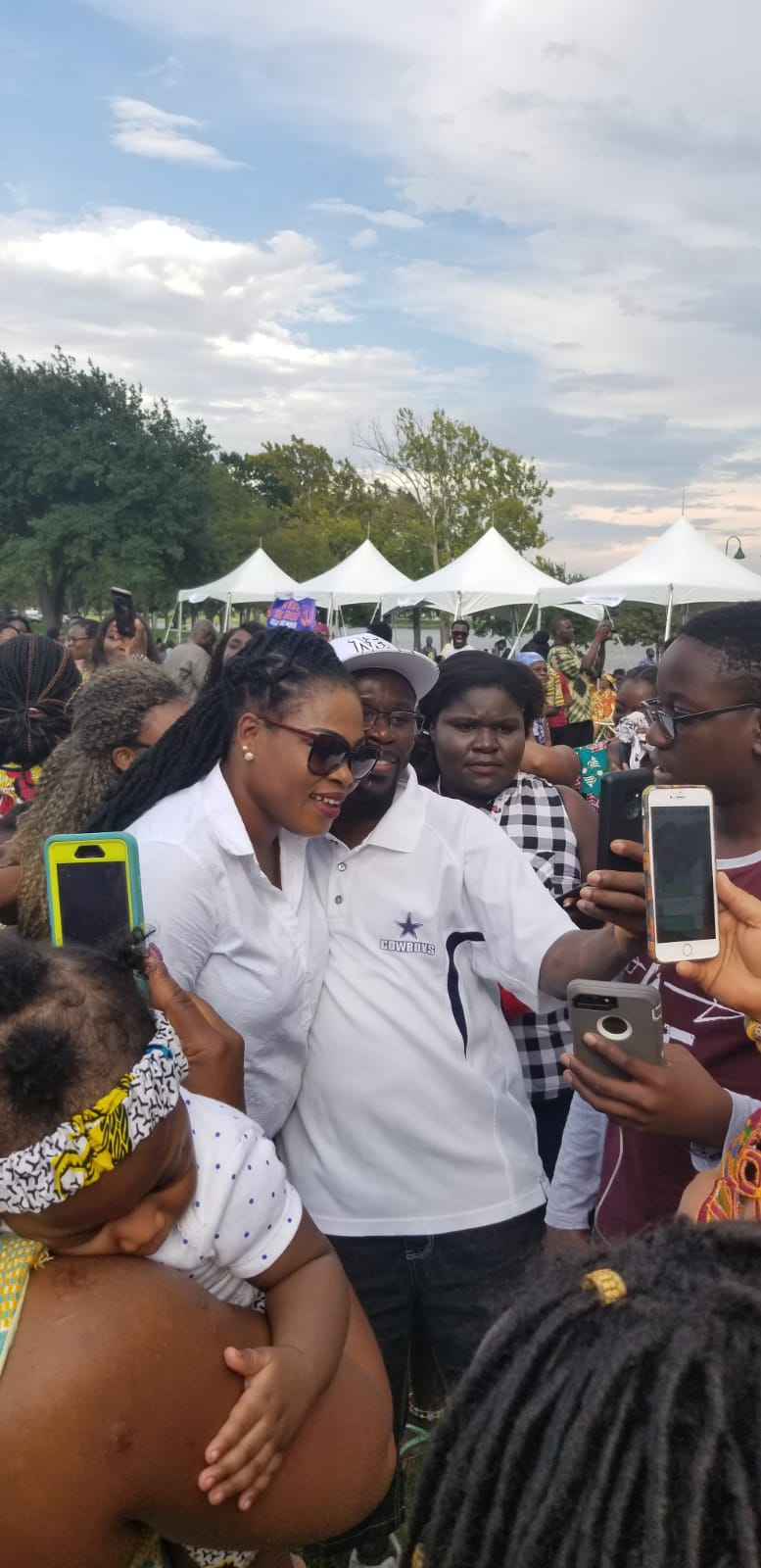 Joyce Blessing Thrills Fans at Maiden Ghanafest Event in