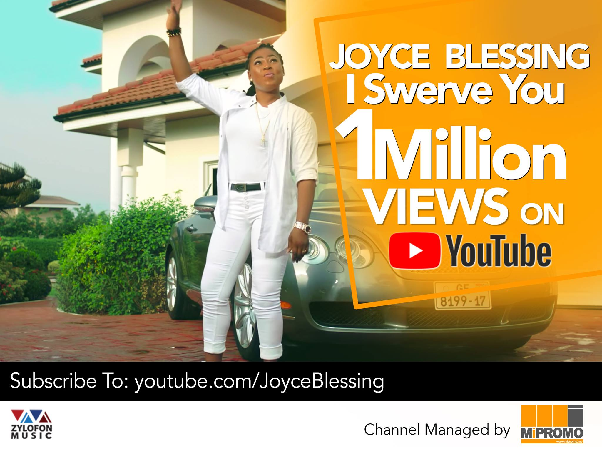 Joyce Blessing's 'I Swerve You' Hits 1Million Views on