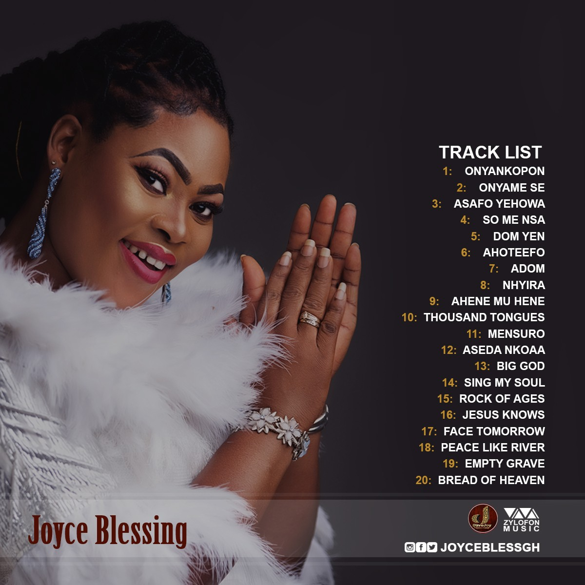 See Tracklist & Album Cover: Joyce Blessing Set To Release