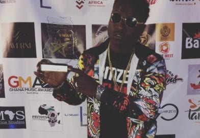 Citizen Welkins Crowned 'Best Music Video of the Year' at the Ghana Music Awards SA.
