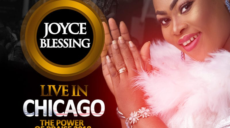 "#iswerveyoutour: Joyce Blessing To Headline ""Power of Praise"" Concert in Chicago"