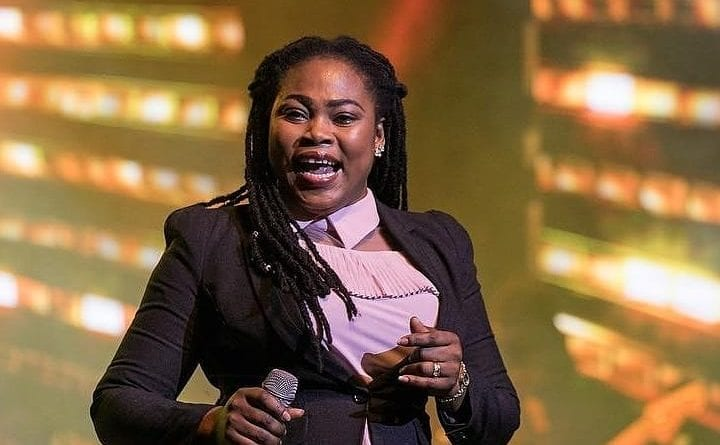 Joyce Blessing's 1 Month Old Repent Song Bags International Award Nomination