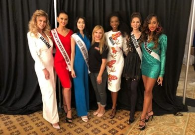 Miss Universe-Ghana 2018 Arrives in Bangkok, Thailand for International Pageant