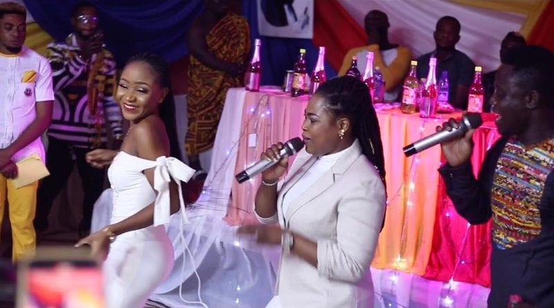 "Videos: Akrobeto, Joyce Blessing & Akuapem Poloo 'Kill"" The Dance in Kumasi over the Weekend"