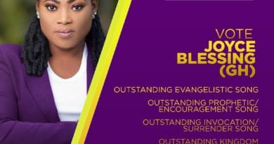 Joyce Blessing Grabs 4 Nominations at 2019 MGWMA's in Kenya