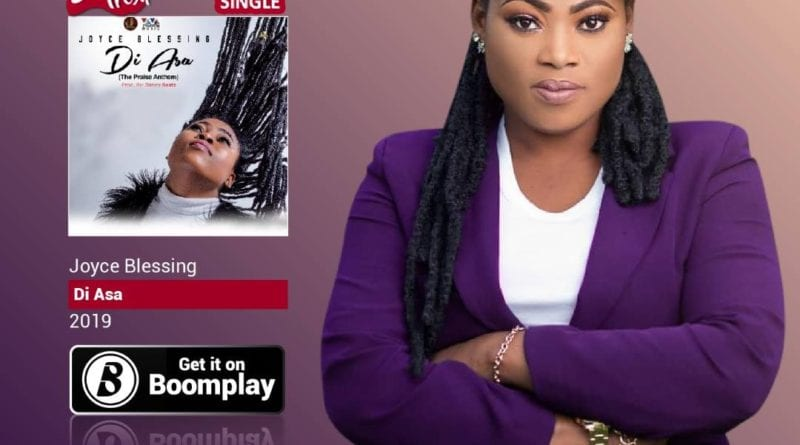 Joyce Blessing Tops BoomPlay Chart with 'Di Asa'