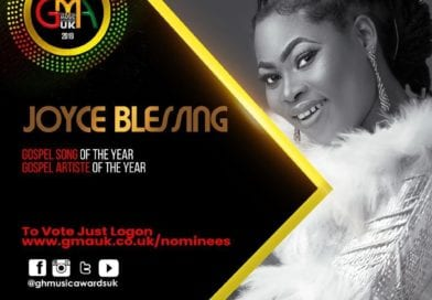 Joyce Blessing Grabs Nominations  for 2019 Ghana Music Awards UK