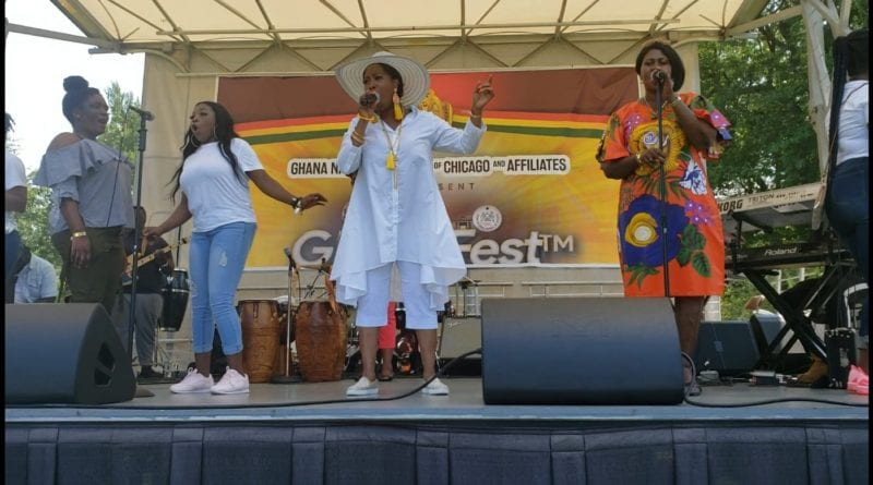 Photos: Herty Winner Thrills Patrons at GhanaFest 2019 in  Chicago